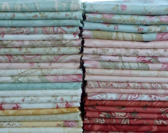 3 Sisters for Moda Fabrics Paris Flea Market Collection One 37 Piece Fat Quarter Yard Bundle