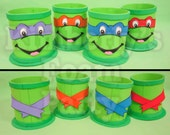 4 Ninja Turtle Centerpieces