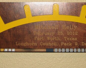 Custom Arrow of Light Award for Cub Scouts