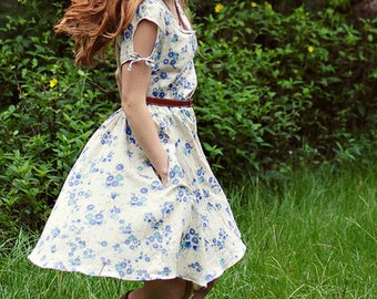 Clara Dress Sewing Pattern by Sew Liberated