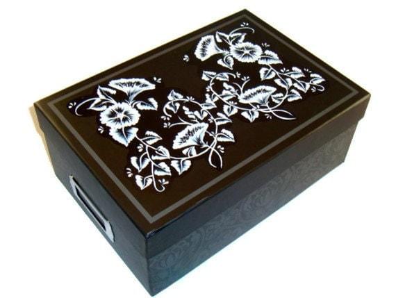 Memory Box/ Photo/ CD Holder/ Recipe Box