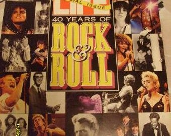 Life Magazine 12/1/92 40 years of Rock N Roll