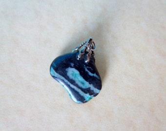 Vintage Kambaba Jasper  Stone Charm/Pendant