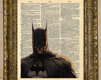Batman Dictionary Art