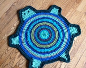 Items Similar To Turtle Rag Rug Custom Made In Colors