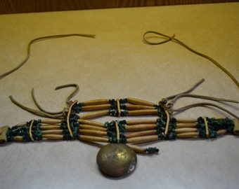 Vintage Indian Chest Piece Necklace