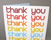 """Thank You Card, Funny Card- """"Did I say It Enough"""""""