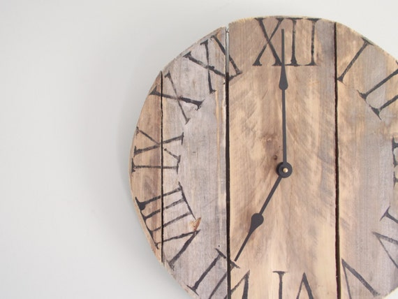 Rustic Small Pallet Clock - Reduced