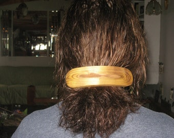 wood barrette