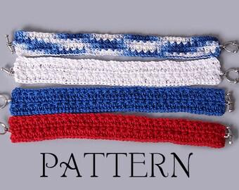 PDF Crochet Pattern - Star Stitch Bracelet