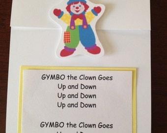 Gymboree Birthday Invitation