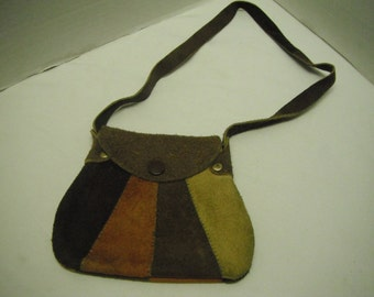 Hippie suede purse