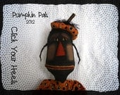 Pumpkin Pals Pattern Click Your Heels