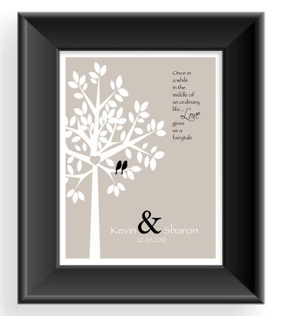 Personalized Wedding Gifts For Couple Uk : Personalized Couple Gift -Valentines Day Gift -Wedding Gift -First ...