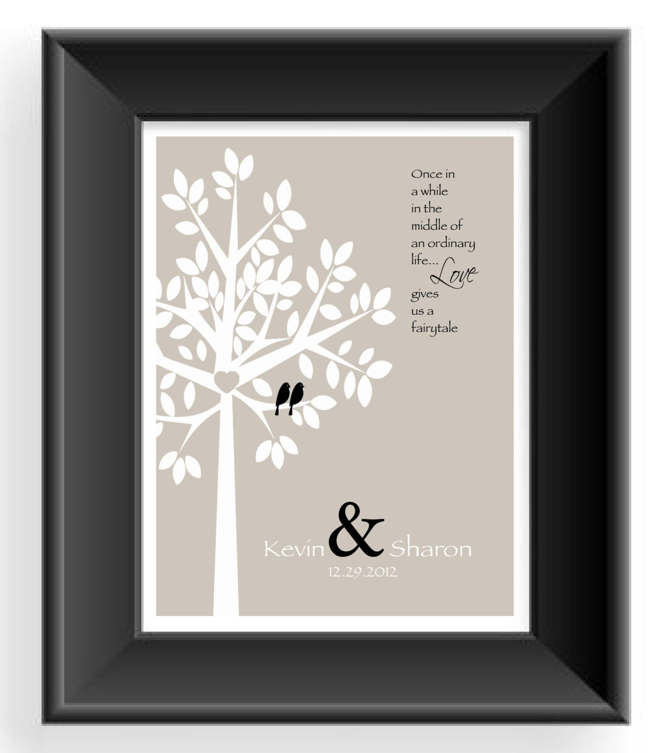 Wording For Wedding Gifts : Personalized Couple Gift Valentines Day Gift Wedding