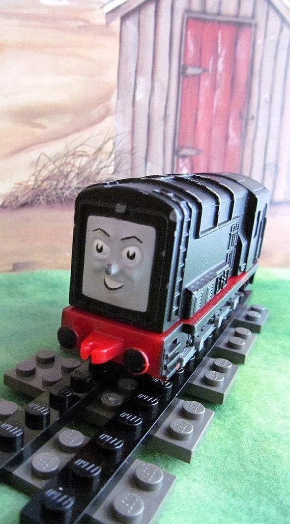 Diesel the Devious Vintage Die Cast Ertl Thomas the Tank
