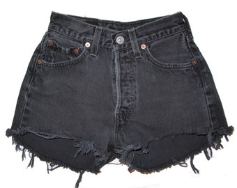 Ebony High Waist Shorts