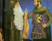 King & Wizard Medieval Costume Collection Simplicity Pattern 9143  Uncut  Sizes L - XL  Chest 42-48""