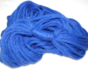 FREE SHIPPING  Hand knitted mohair infinity scarf, necklace, neck warmer in Blue, Black and Light Lavander