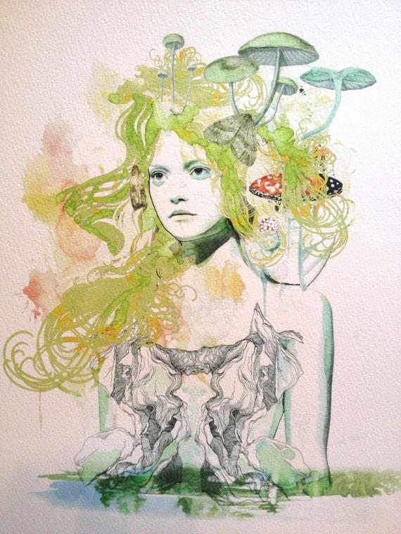 Lorelei Fine Art Print
