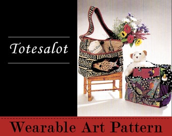 Totesalot - carry your laptop, baby paraphernalia, or quilting supplies