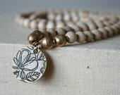 Brass Lotus Mala //