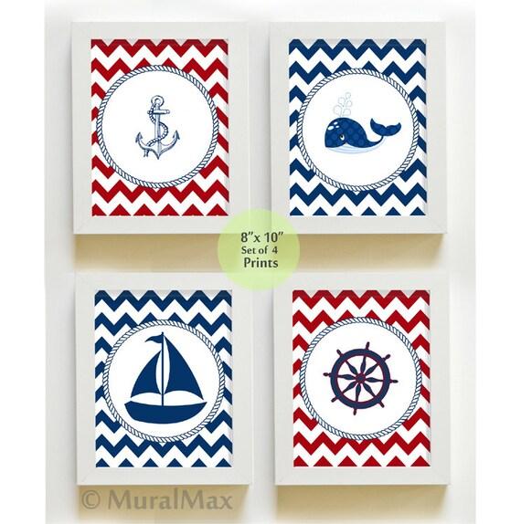 nautical nursery art sail boat nursery decor nautical. Black Bedroom Furniture Sets. Home Design Ideas
