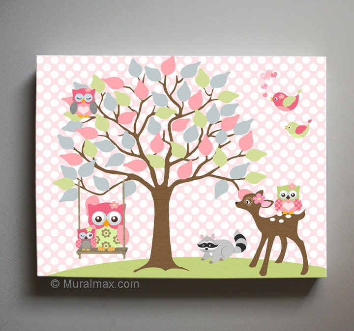 Owl Baby Room Decor