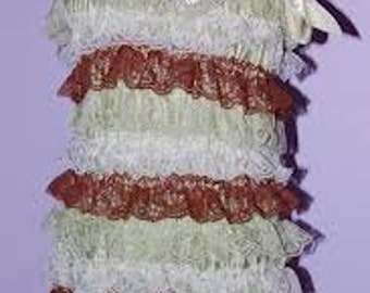 Sherbert Lace Romper- Large