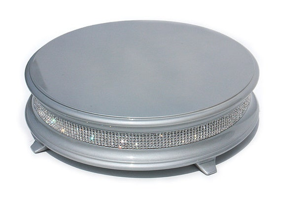 16 inch silver cake stand