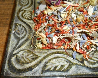 PERSONALIZED Loose Incense Blend- Herbal Spice Potpourri