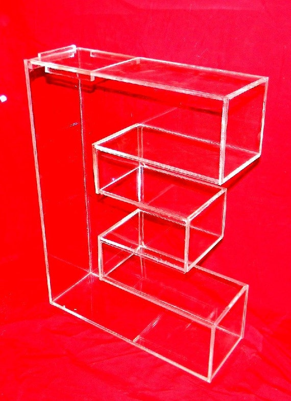 plastic letter candy dishes items similar to custom lucite letters beautiful clear 3 24012 | il 570xN.420404068 tuwo