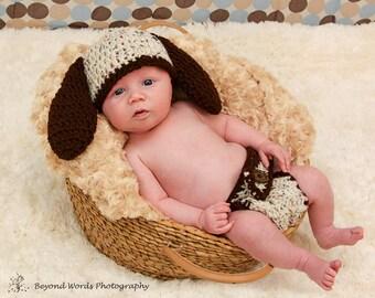 Baby Crochet Puppy Dog Ears Hat