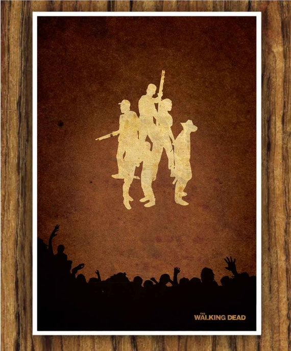 The Walking Dead A3 poster