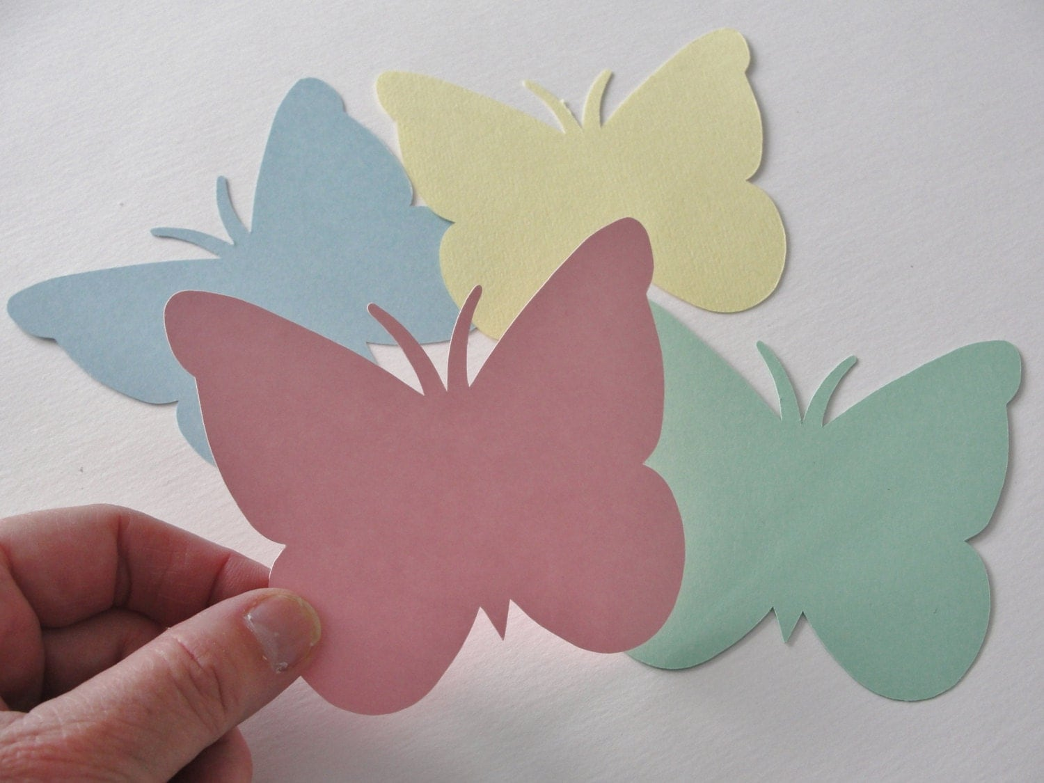 Butterfly paper cutting step by step images for Paper art butterfly