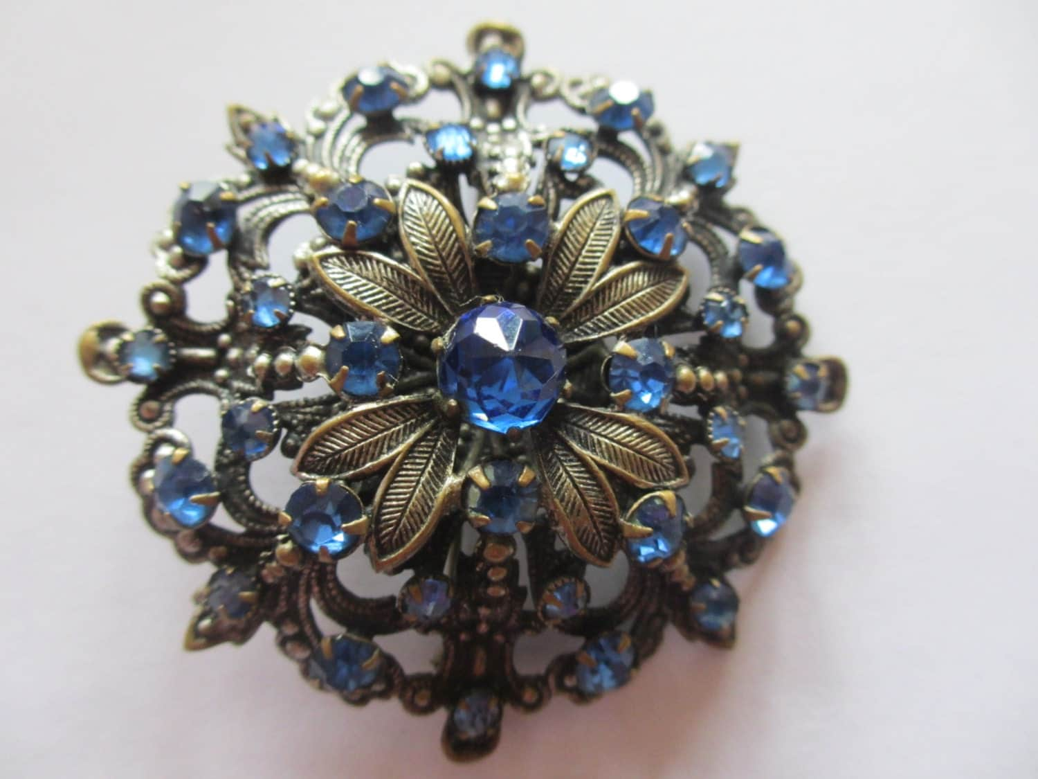 vintage costume jewelry brooch 1950 39 s