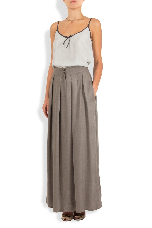 maxi skirt w pockets by kantanbytimor on etsy