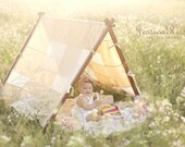 Kids Photography Props Patchwork Tent Cover Kids Photo Prop Play Tent Cover Outdoor Photography Props Kids Photography Props Beige/Neutral