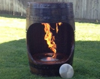 Fire Pit Barrel
