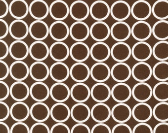 SALE 1/2 Yard Robert Kaufman Metro Living in Chocolate