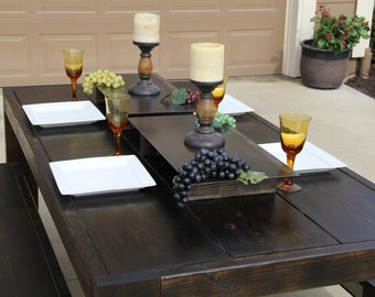 Beautiful Wooden Custom Dining Sets Made for YOU