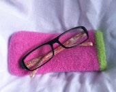 PATTERN For Knitted & Felted Eyeglass Case