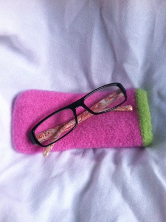 Items Similar To Pattern For Knitted Amp Felted Eyeglass