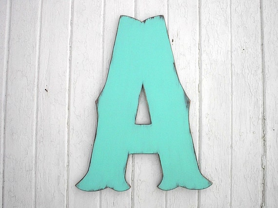 decorative wooden wall letter 24 a rustic wedding decor gue
