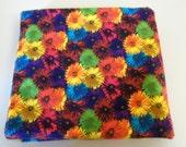 Cotton Flannel - Bright Floral Print