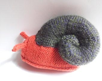 handknit snail