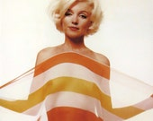 "Marilyn Monroe Photograph Giclée by Bert Stern from ""The Last Sitting"" - Topless with Sheer Scarf"