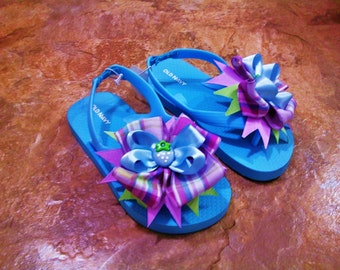 Baby girl flip flop, toddler flip flop, children flip flop,kids sandals, toddler slipper