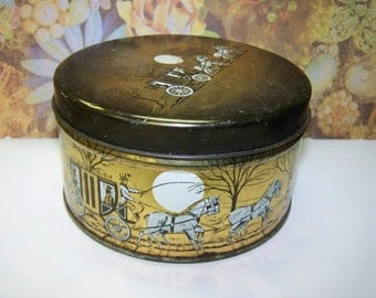 Cherrydale Farms Tin Rustic Tin Vintage Candy Tin