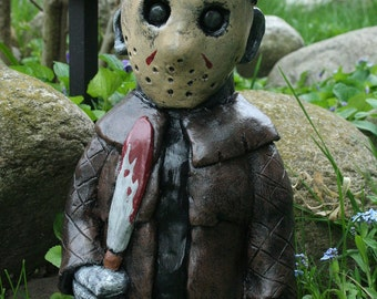 The Crystal Lake Slasher - Horror Movie Gnome